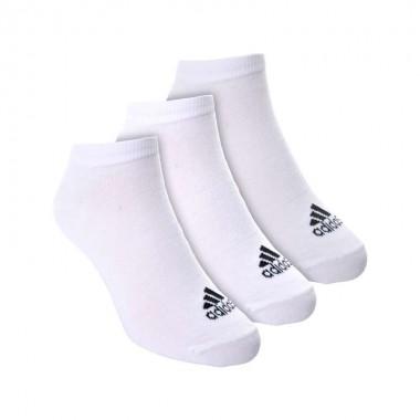 Adidas 3 calze a scomparsa alte - (P/E)
