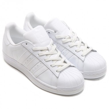 Adidas Scarpa Superstar bianco/bianco - (P/E)