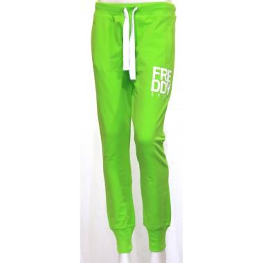 Pantalone jersy con polsino e scritta Freddy - (P/E)