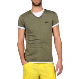 Napapijri t-shirt manica corta collo a V mod. SOMBRE - (P/E)