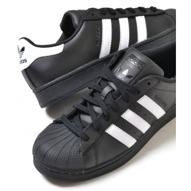Adidas Superstar Fundation nero/bianco - (A/I)