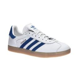 Adidas gazelle scarpa tempo libero bianco/blu - (P/E)