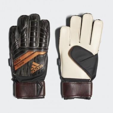adidas guanti junior predator finger save nero rosso rame oro - (P/E)
