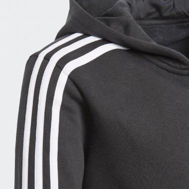 adidas felpa zip lunga cappuccio mod.essential logo - (P/E)