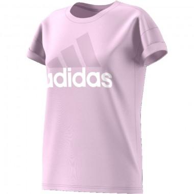 adidas t-shirt essentials linear loose con scritta - (P/E)