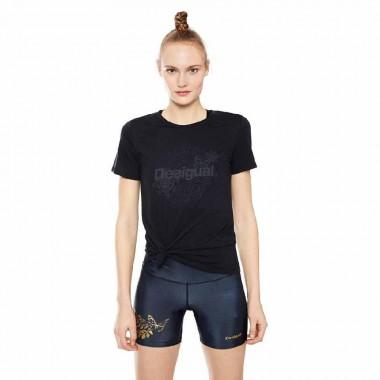 Desigual t-shirt manaca corta tinta unita - (P/E)