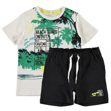 name it completo t-shirt + short - (P/E)