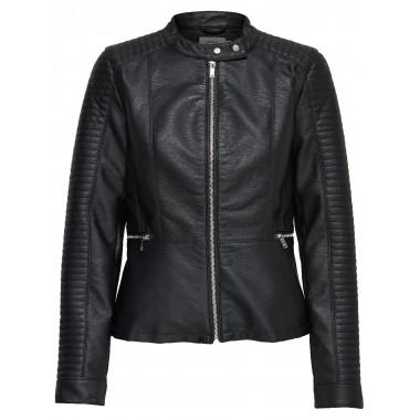 Giacca ecopelle modello  onlheart faux leather - (P/E)