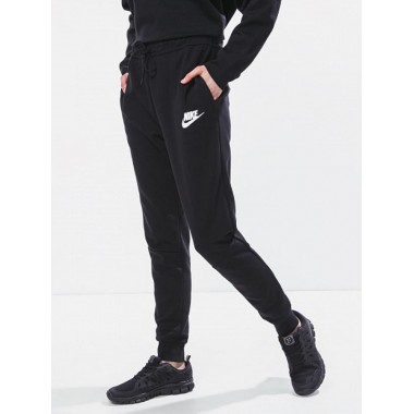 Donna pantalone felpa polsino - (A/I)