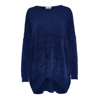 only maglia max giro collo  mod velvet - (A/I)