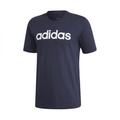 adidas t-shirt con scritta grande e lin tee - (P/E)