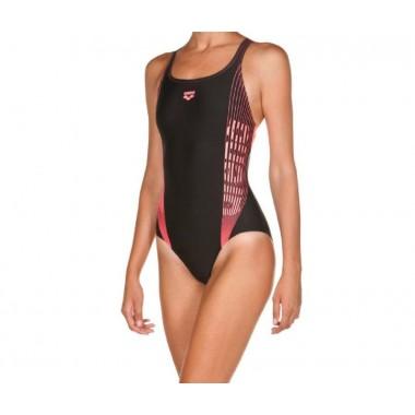 arena costume piscina bambina resistente al cloro - (P/E)