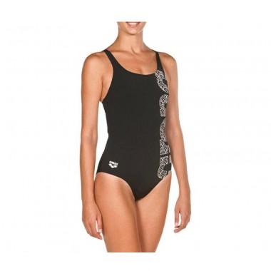 arena costume piscina donna resistente al cloro con reggiseno - (P/E)
