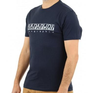 sallar ss t-shirt con scritta media