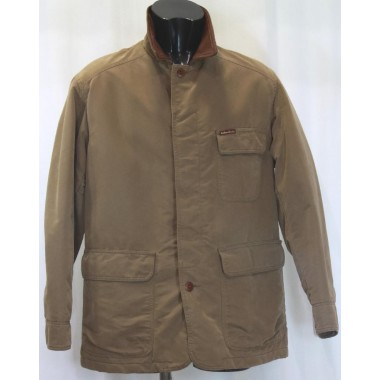 Marlboro giaccone uomo in panno modello J.W.con collo in pelle - (A/I)