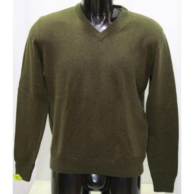 Marlboro  maglia collo a V in lana - (A/I)