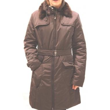 Giaccone in piuma con pelliccia staccabile - (A/I)