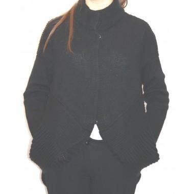 Blauer maglia aperta in lana con bottoni automatici - (A/I)