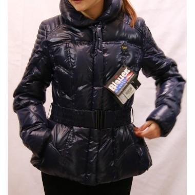 Blauer giaccone in piuma corto - (A/I)