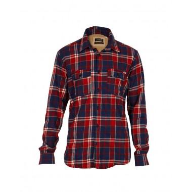 Jack&Jones camicia flanella di cotone fantasia a quadri mod. Got - (A/I)
