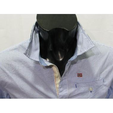Camicia manica lunga a righe verticali mod.GALATEA