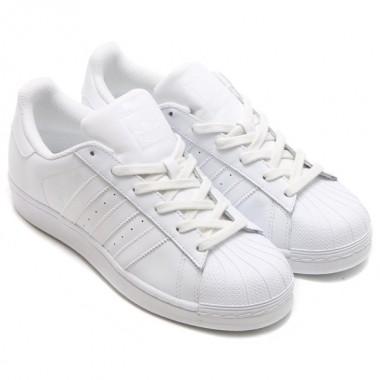 Adidas Scarpa Superstar bianco/bianco