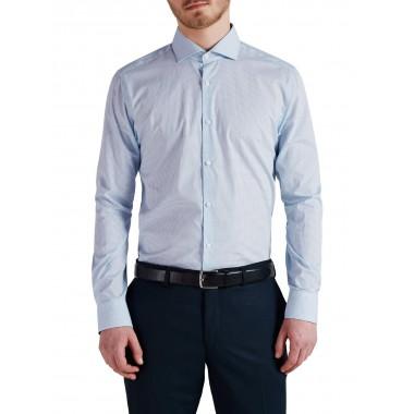Jack&jones  camicia manica lunga bianco/fantasia