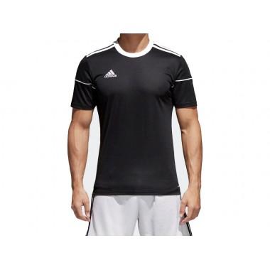 adidas  t-shirt giro collo con logo mod.squadra