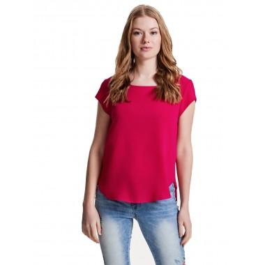 camicia mezza manica con zip dietro al collo modello onvic s/s solid