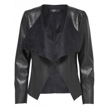 giacca ecopelle modello onlmetal