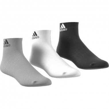 adidas 3 paia calze per ankle t 3pp