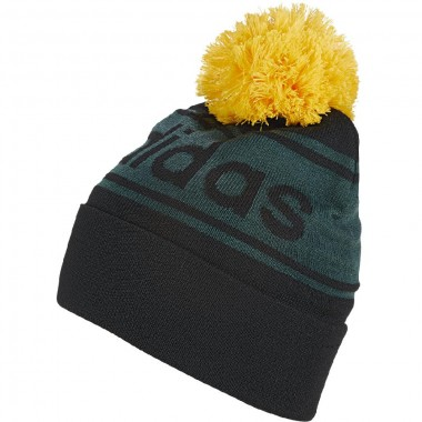 adidas cappello lana pon pon con scritta grande