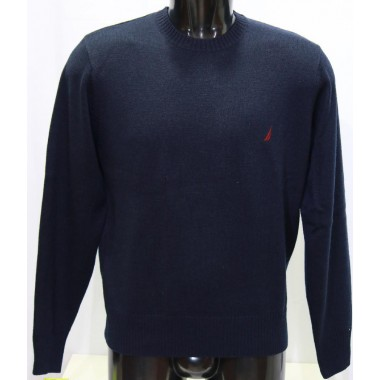 Maglia giro collo in lana