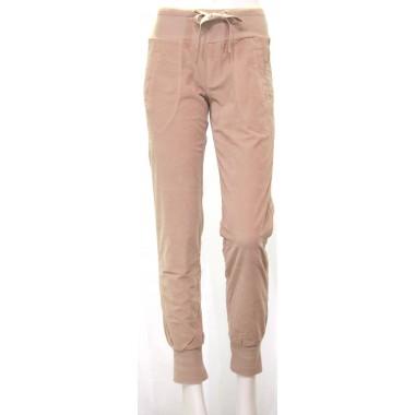 Pantalone a costine donna con polsino Deha