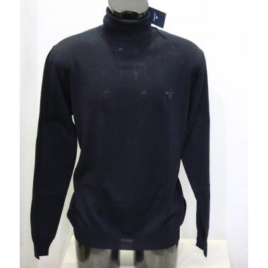 Gant maglia lana  leggera collo alto